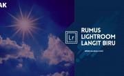 Rumus Lightroom Langit Biru