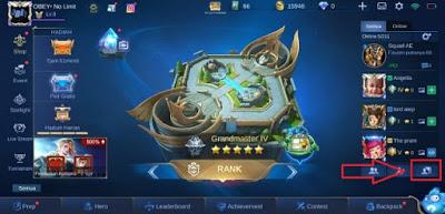 Cara Membuat Squad di Game Mobile Legends