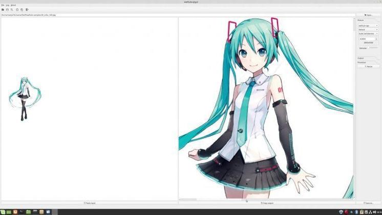 Cara Memperbesar resolusi foto dengan waifu2x