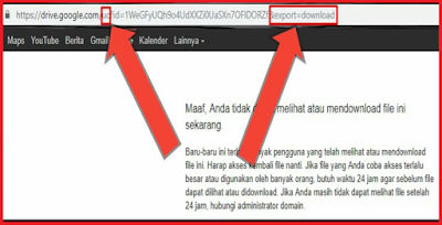 cara mengatasi limit google drive android