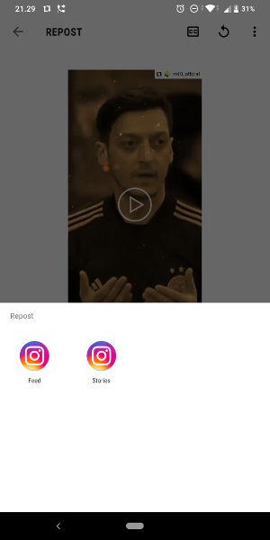 Cara Repost Postingan Instagram Feed