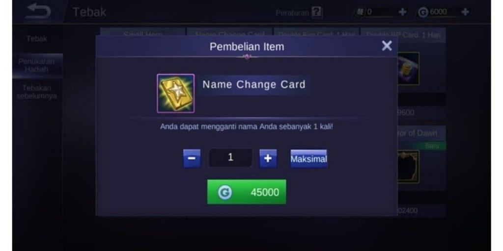 Nama Keren Mobile Legends