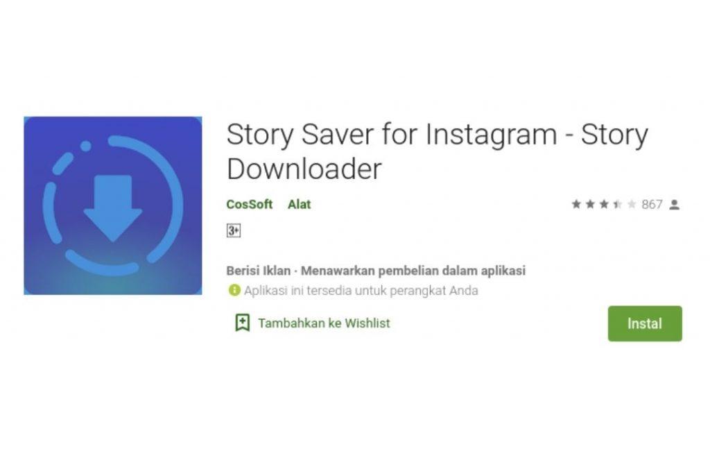 Cara Download Story IG
