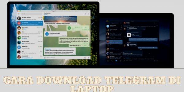 Cara Download Telegram di Laptop