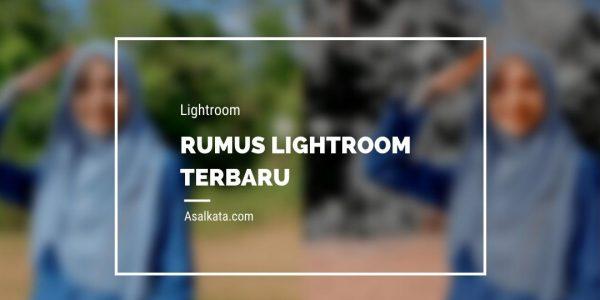 Rumus Lightroom Keren Bahasa Indonesia