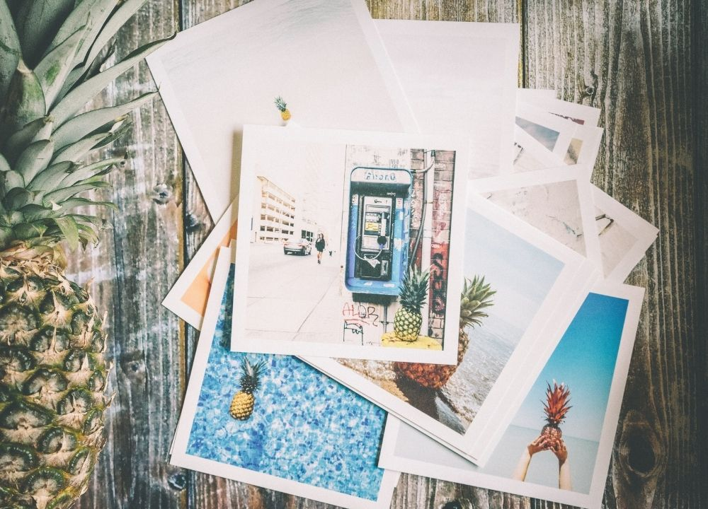 Contoh Postcard Modern