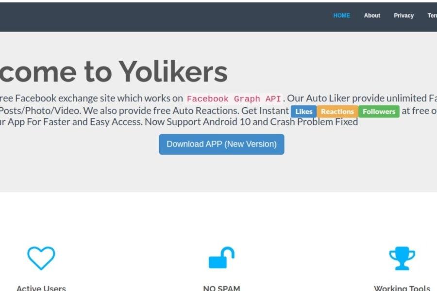 cara auto like facebook menggunakan aplikasi android